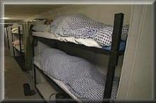 Schlafen im Bunker