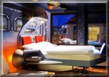 Themenzimmer im Hostel