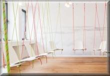 kreative Zimmer zum Übernachten