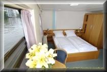 Übrnachtung auf einem Hostelboot