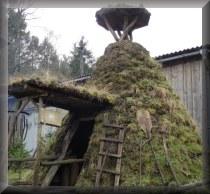 Übernachten in einer Köhlerhütte