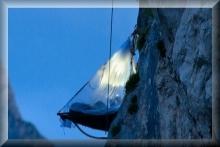 Portaledge - Schlafen an der felswand